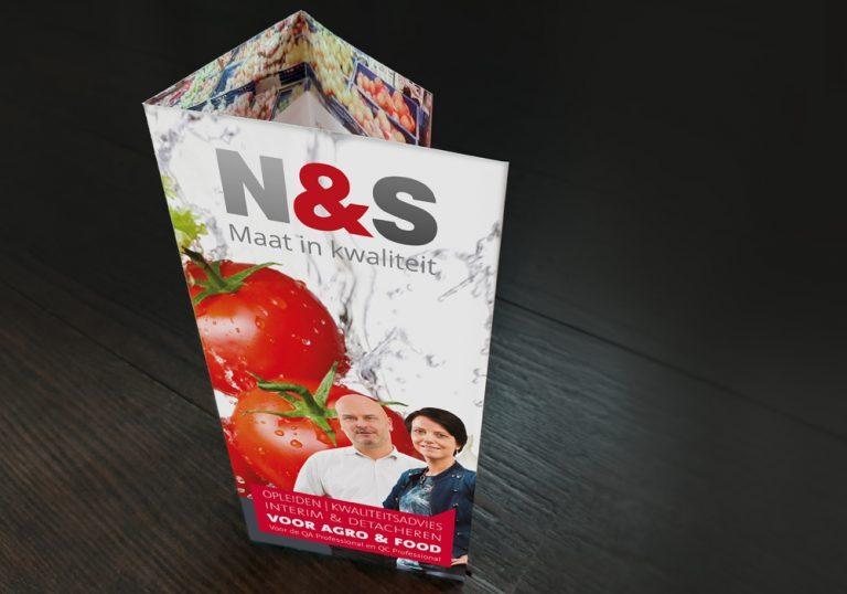 N&S Maat in kwaliteit folders
